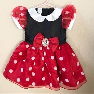 Disney Minnie Mouse costume for toddler girl